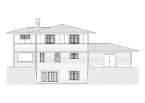 Temple Residential House Plan SketchPad House Plans