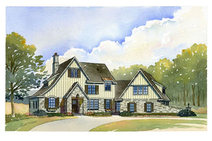 Turnstone Residential House Plan SketchPad House Plans