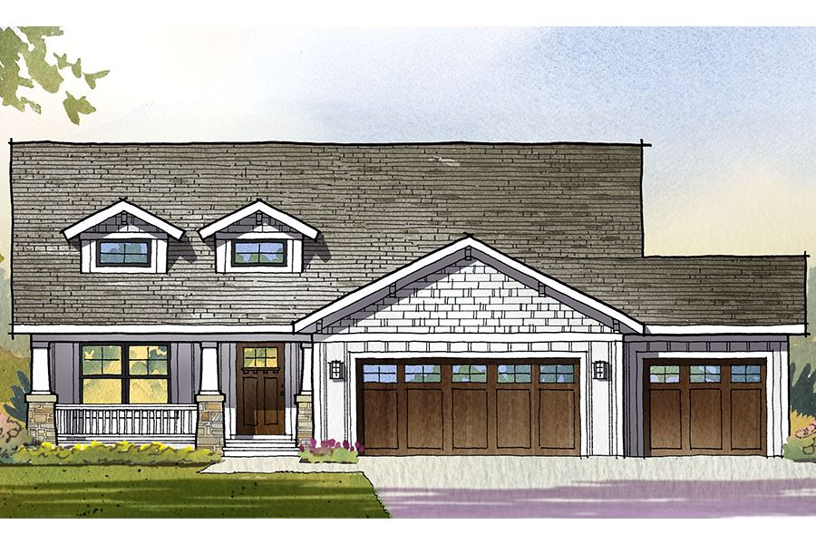 Watermark Residential House Plan SketchPad House Plans