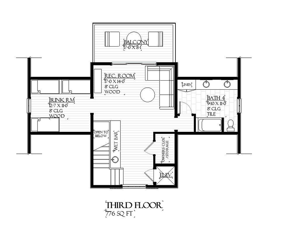 Caliza Residential House Plan SketchPad House Plans