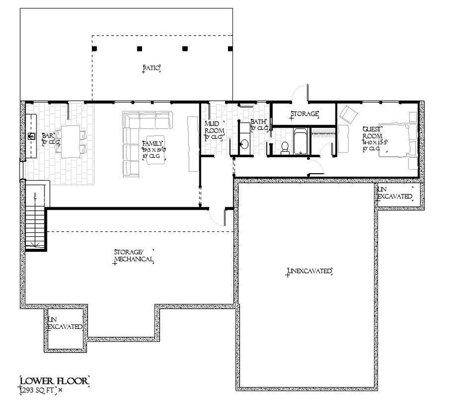 Collins Residential House Plan SketchPad House Plans