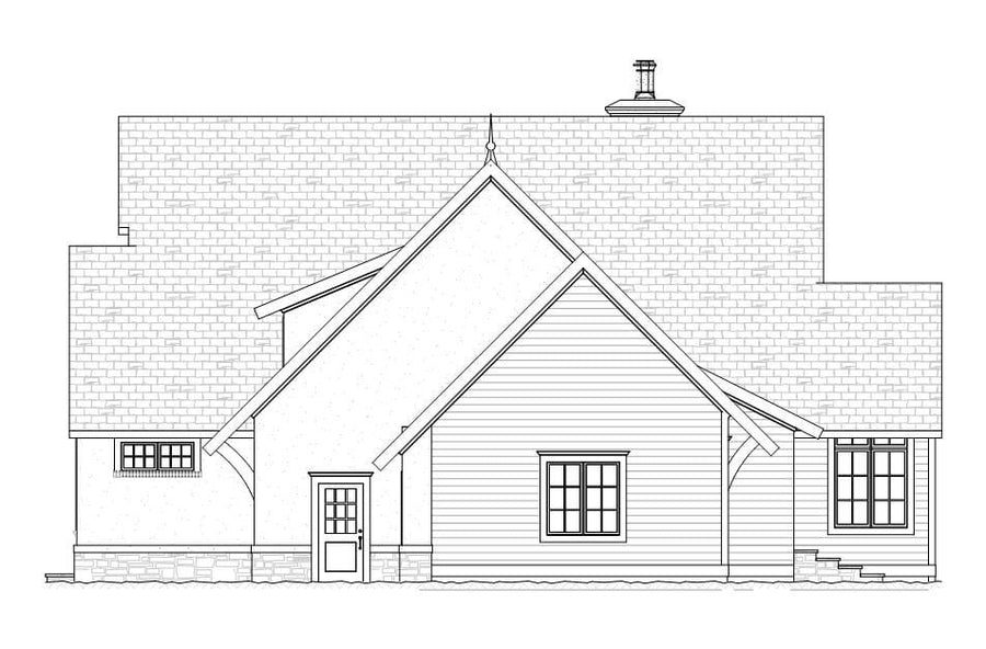Geneva Residential House Plan SketchPad House Plans