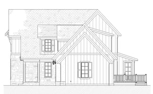 Oakwood Residential House Plan SketchPad House Plans