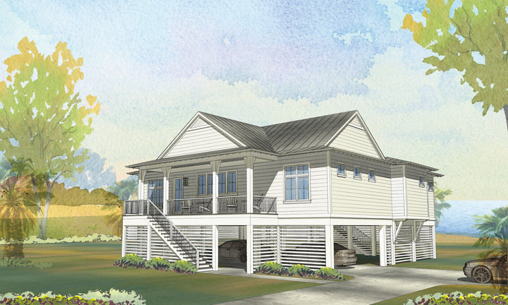 Seagrass Residential House Plan SketchPad House Plans