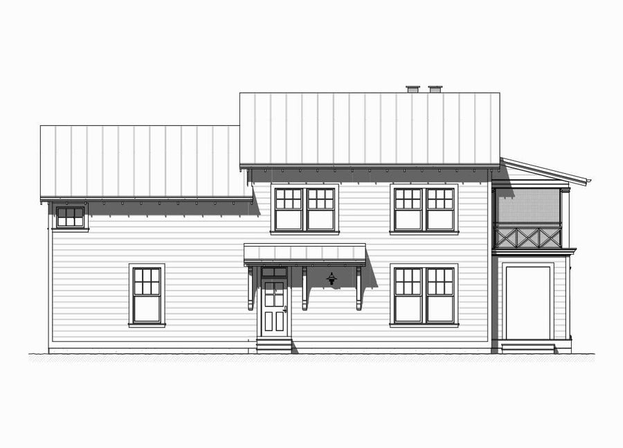 Tradewind Residential House Plan SketchPad House Plans