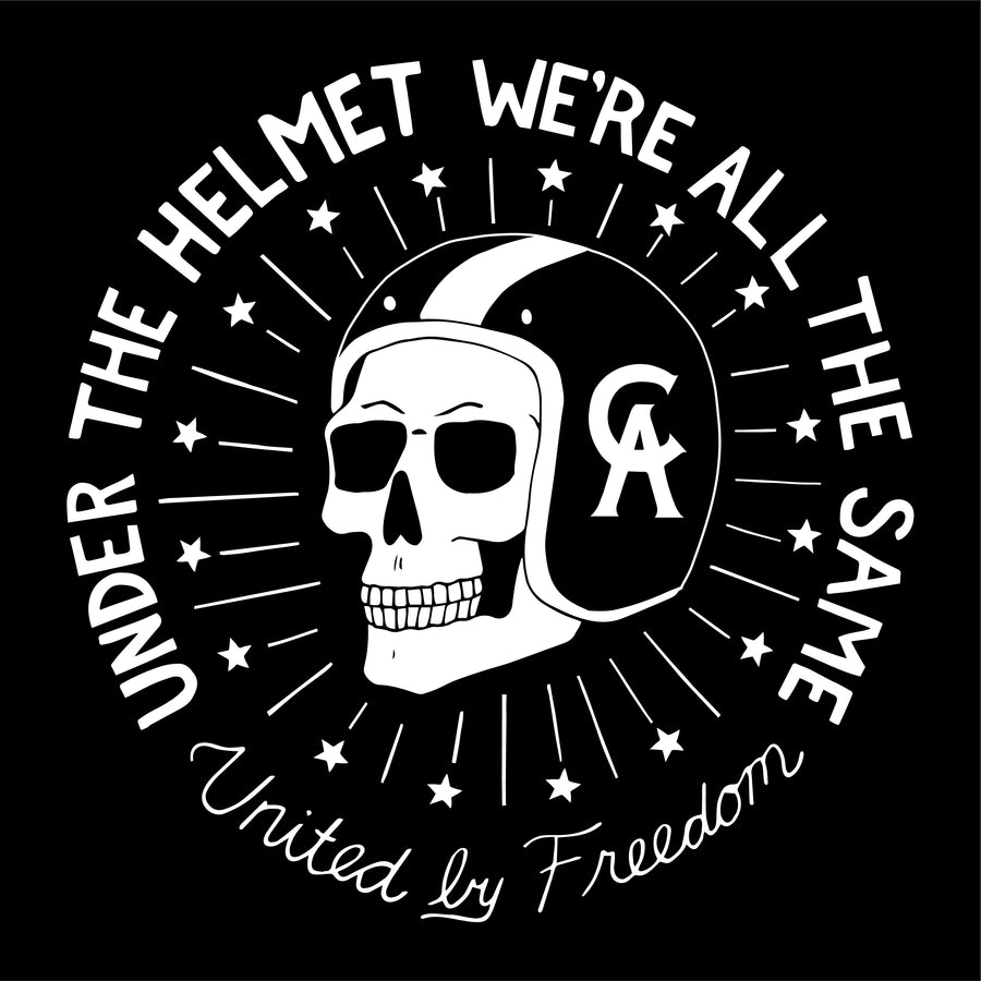 motorcycle t shirt | united by freedom | soft t shirt | premium t shirt