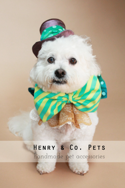 Mad Hatter Dog Costume