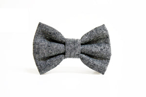 Dog Bow Tie - Charcoal