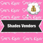 Shades/ sunglasses vendors