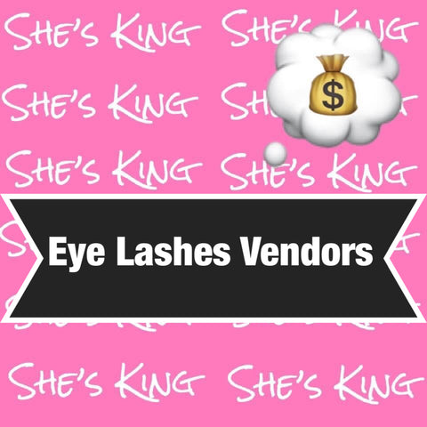 Eye Lash Vendors
