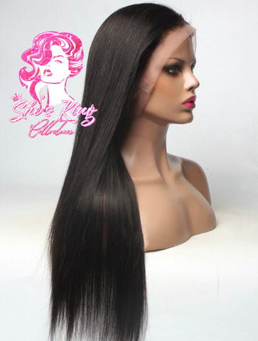 UN-CUSTOMIZED Full Lace Frontal Straight Unit (2/3 business days PRE ORDERS ONLY )