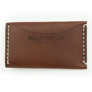 Colonial Drive Minimalist Wallet - Brown