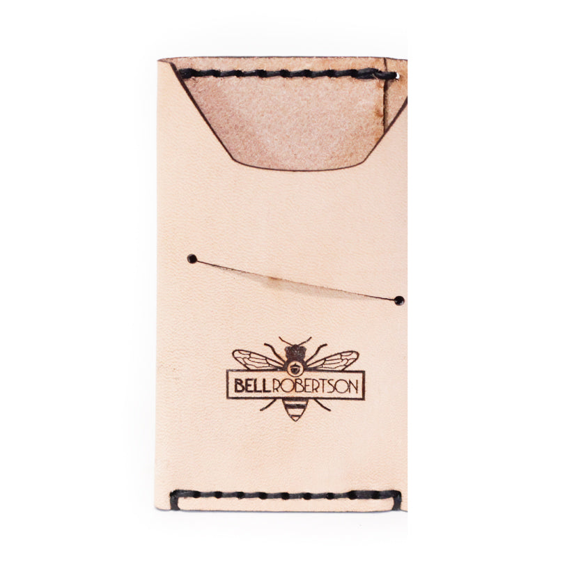 Colonial Drive Minimalist Wallet - Natural