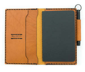 Expedition Journal or Passport Wallet - Tan