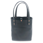 "NO. 3 Leather Tote ""Midnight Edition"""