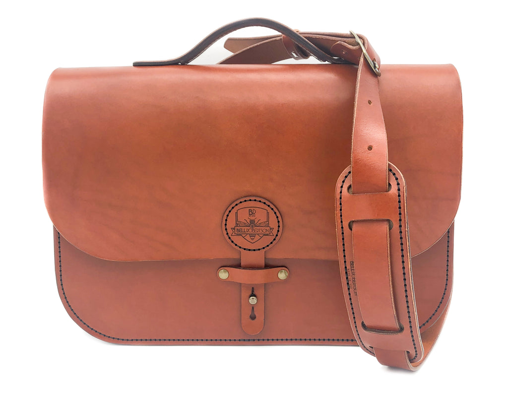 Cavalier Messenger Briefcase - Tan