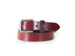"Williamson Classic Leather Belt - 1.25"" American Brown"