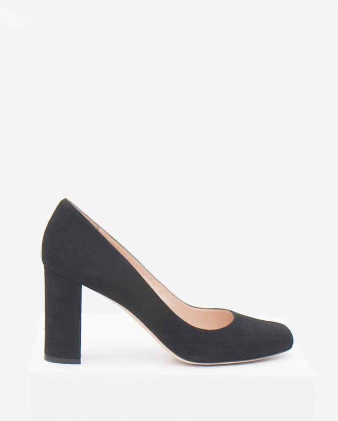 size 42 - Natalia with 8cm block heel & oval toe