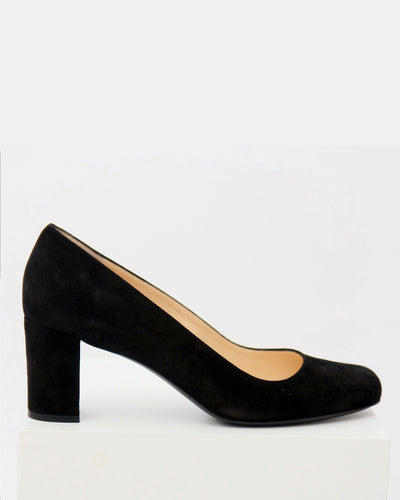 size 43 - Clara with 6.5cm block heel and oval toe