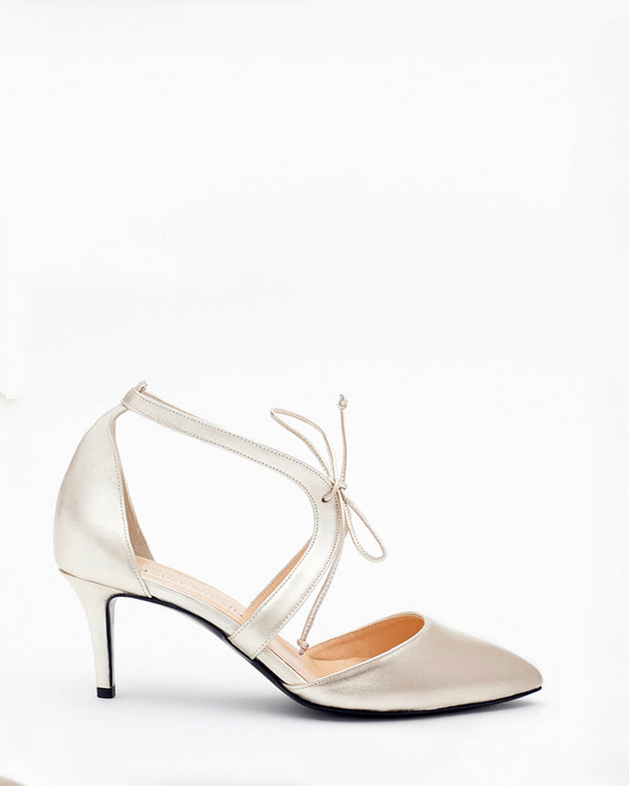 size 39 - Audrey with 6.5cm stiletto heel & pointed toe*