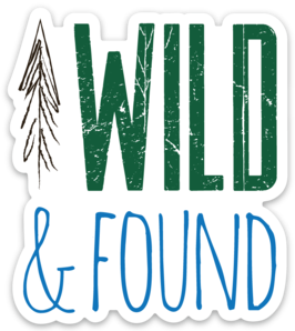 Wild and Found - Colour Sticker