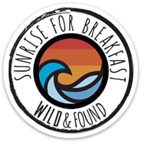 Sunrise for Breakfast Sticker