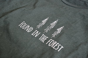 FOUND IN THE FOREST T-SHIRT