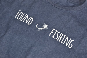 FOUND FISHING T-SHIRT