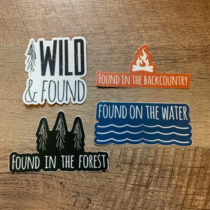 4-Pack of Stickers
