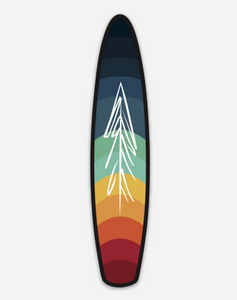 Rainbow SUP Sticker