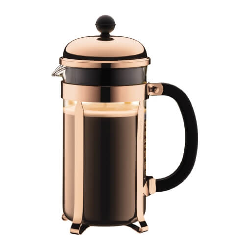 Bodum Chambord 8 Cup - Copper Press