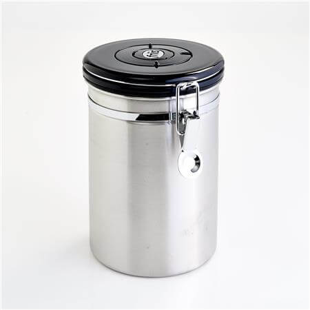 Friis Coffee Vault - Silver (Black Lid)