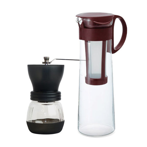 Hario Cold Brew Grinder Bundle