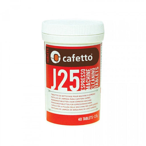 Cafetto J25 Tablets 2.5g - Jar of 40