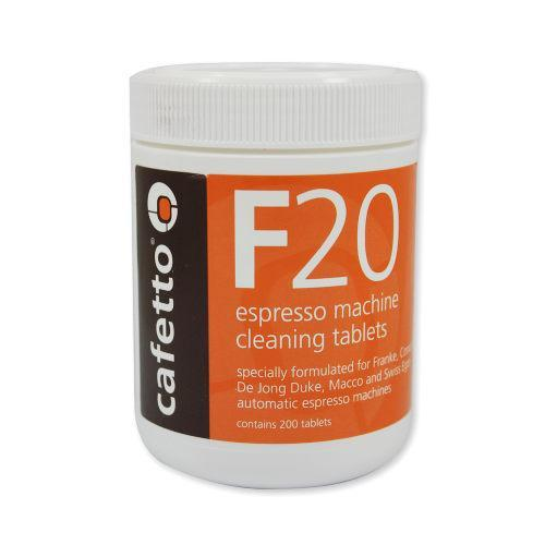 Cafetto Espresso Machine Cleaning Tablets 2 gram 200 Tablets Jar