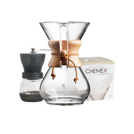 Chemex 6 Cup Complete Starter Kit