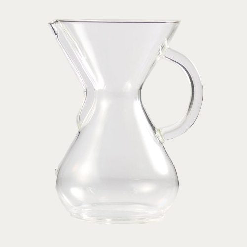 Chemex 6 cup, Glass Handle, 900ml