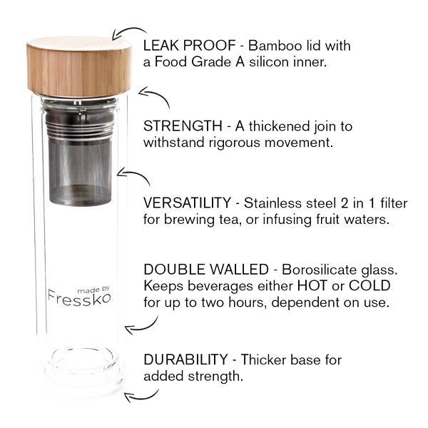 FRESSKO TOUR FLASK – 400ml