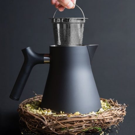 Fellow Raven Tea Kettle  Steeper
