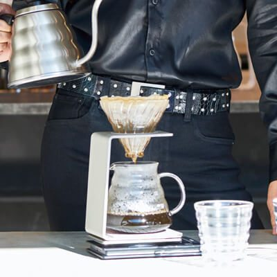 Hario Pour Over Stand - Gold