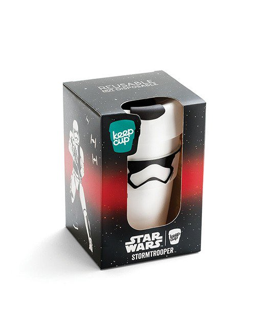 Starwars Keep Cup Stormtrooper 12oz Original