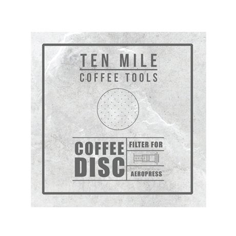 Ten Mile Stainless Steel AeroPress  Delter Filter