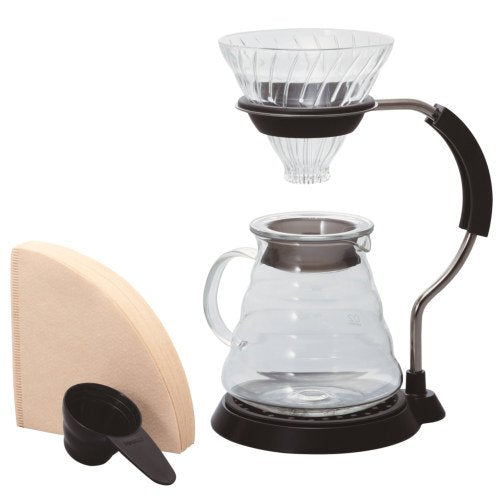 Hario V60 Pour Over Set - Glass