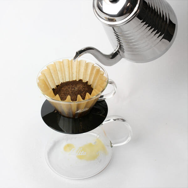 Kalita Glass Wave Dripper 155 Black