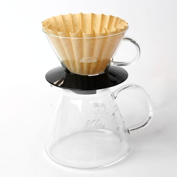 Kalita Glass Wave Dripper 185 Black