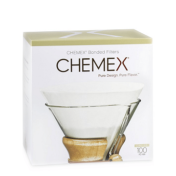 Chemex 6 Cup Pre-Folded Circle Filters, 100pk