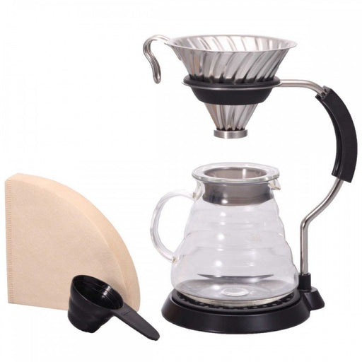 Hario V60 Pour Over Set - Metal
