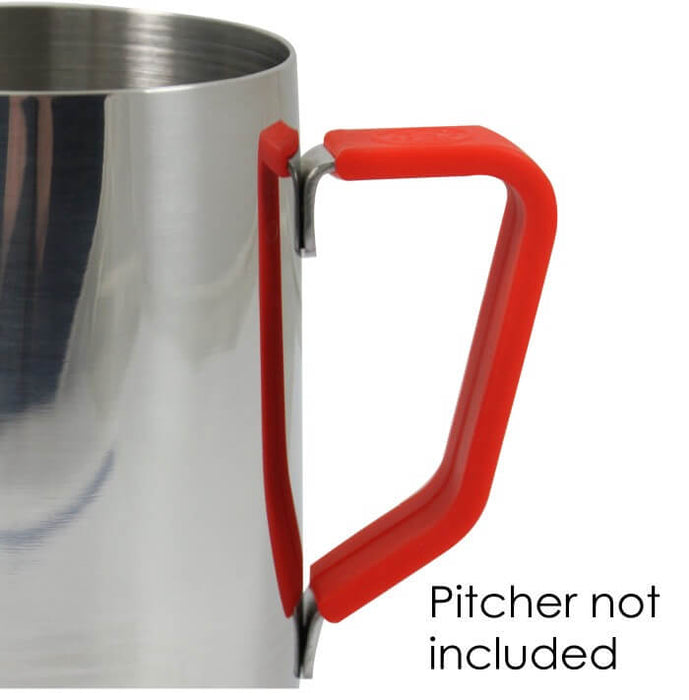 Silicone Pitcher Handle Grip - Red