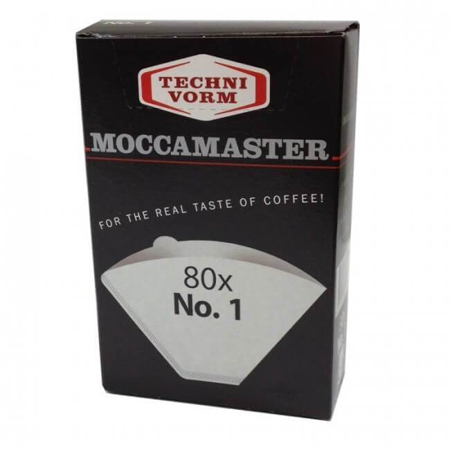 Moccamaster Filter size #1 for Cup-One, 80 pcs