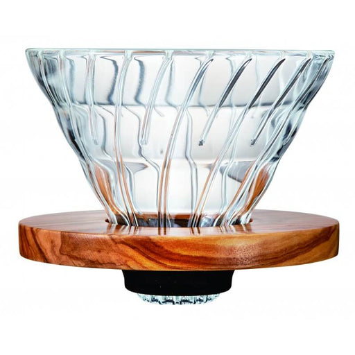Hario V60 Glass – Olive Wood